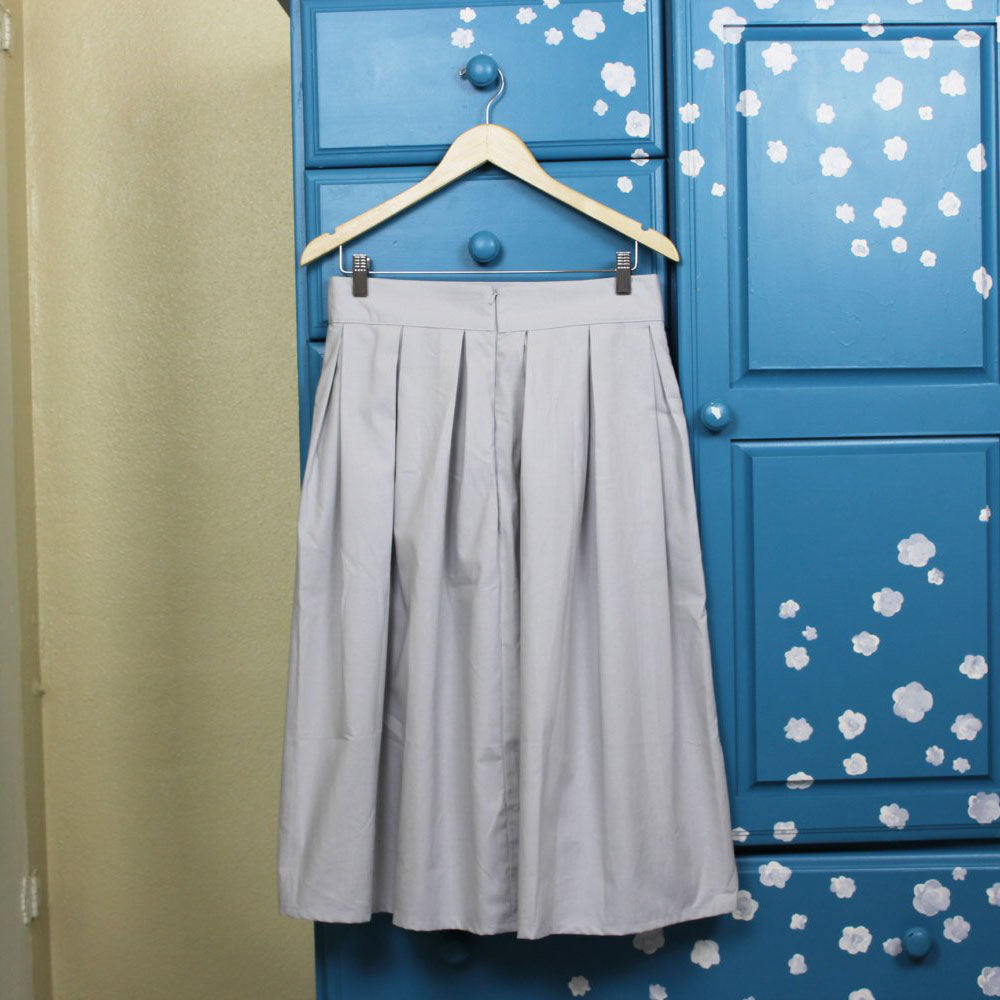Pocket Midi Skirt Pattern