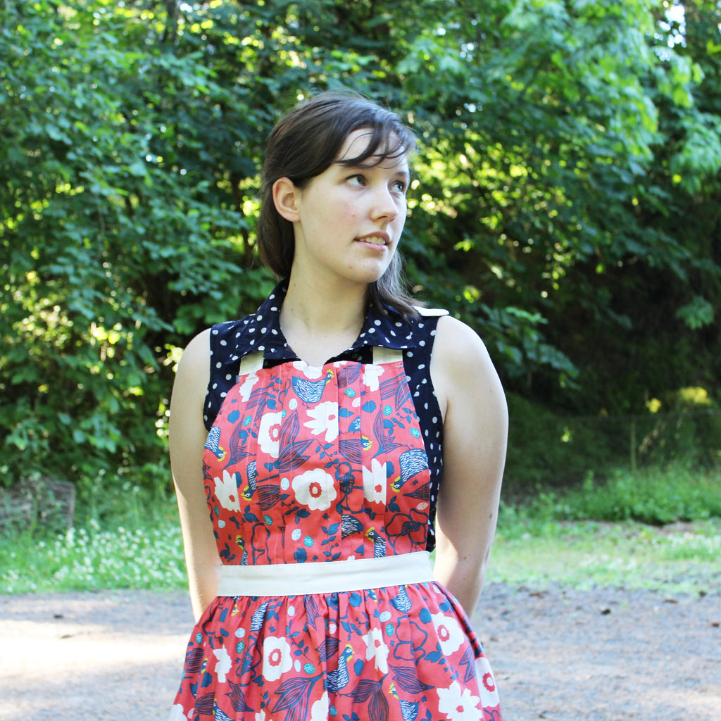 Sweet Tuck Apron Pattern
