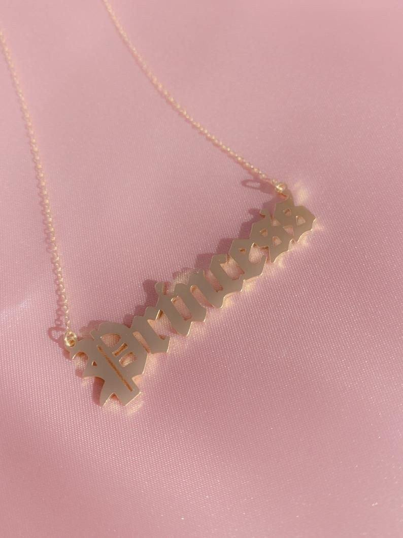 Princess Pendant necklace - Trill Angelz