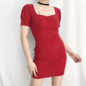 Sweetheart mini dress - Trill Angelz