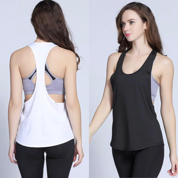 Sleeveless Breathable Sport Loose Top - 4 Colors- S/M/L