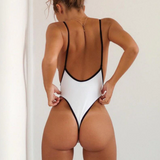 Monokini Swimwear Thong - 2 Colors Available - S/M/L