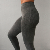 OMBRE Style High Waist Compression Stretchy leggings - 5 Colors Available - S/M/L