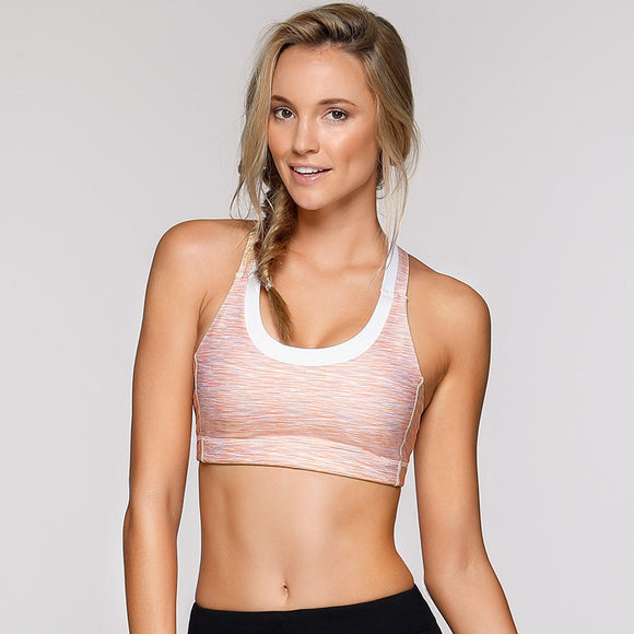 Sport Padded Cross Back Bra - S/M/L/XL