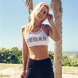"""Vegan"" Mesh Hollow Out Sport Bra - S/M/L"
