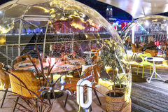 Cork's Lapp's Quay Is Home To Brand New Dining Igloos