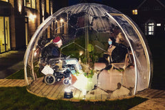 Visitor Pods for Care Homes