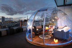 Your new bucket-list destination: Rooftop Dining Igloos in London
