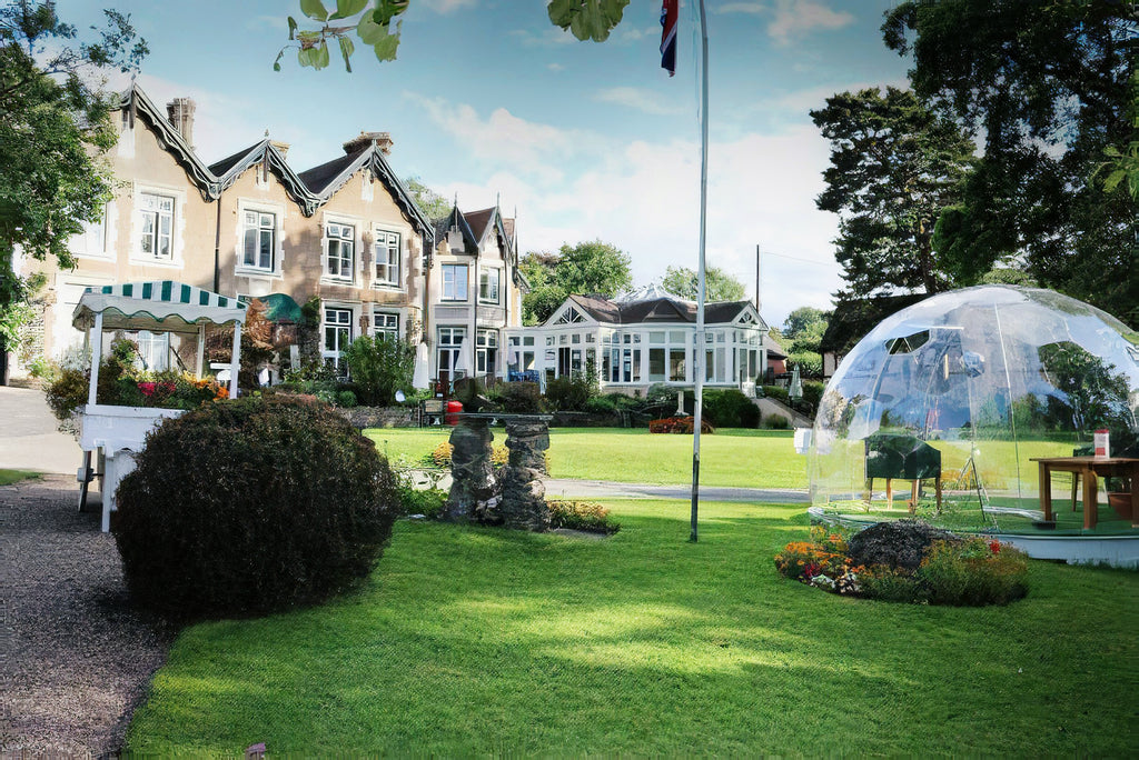 Garden igloo dome to improve the safety of care home visits