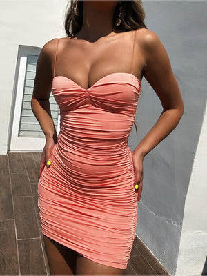 Sexy Deep V Neck Nightclub Party Dress