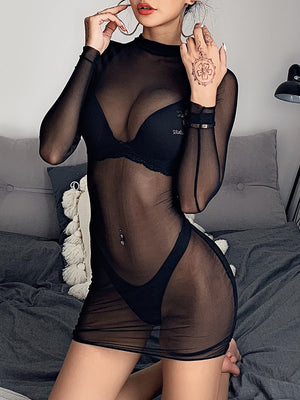 Mesh See Through Lingerie