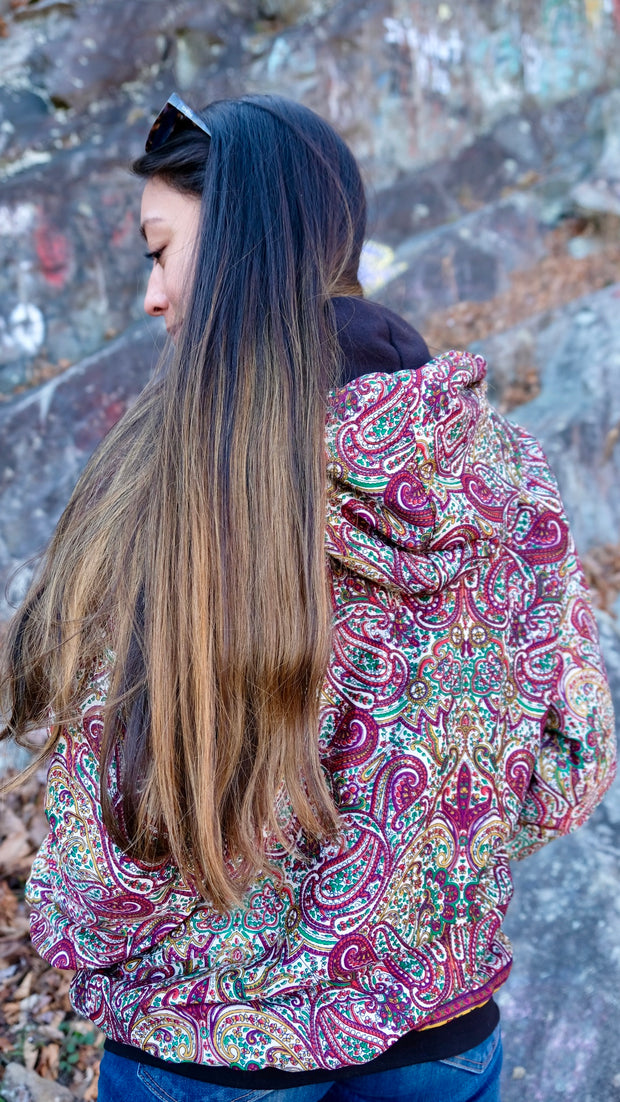 Saree Bomber Fleece