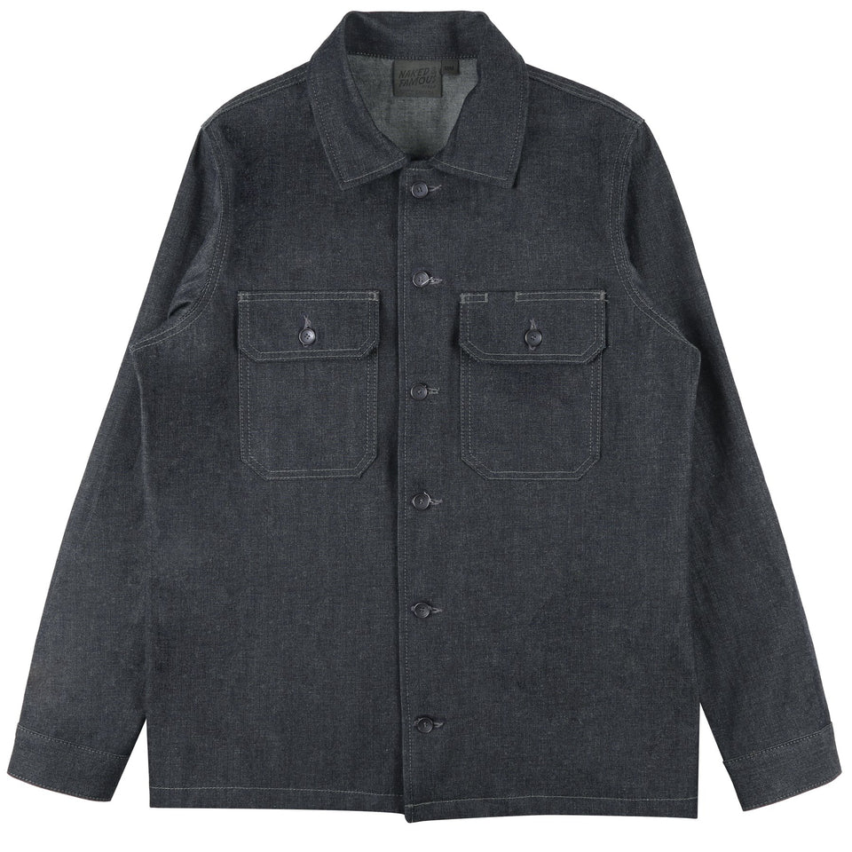 Work Shirt - 10oz Indigo Denim