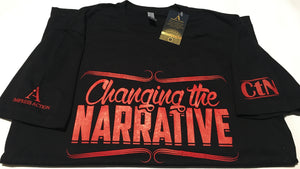 Changing the Narrative Black/Red T-shirt