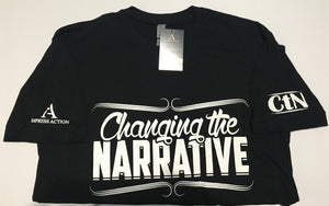 Changing the Narrative Black/White T-shirt