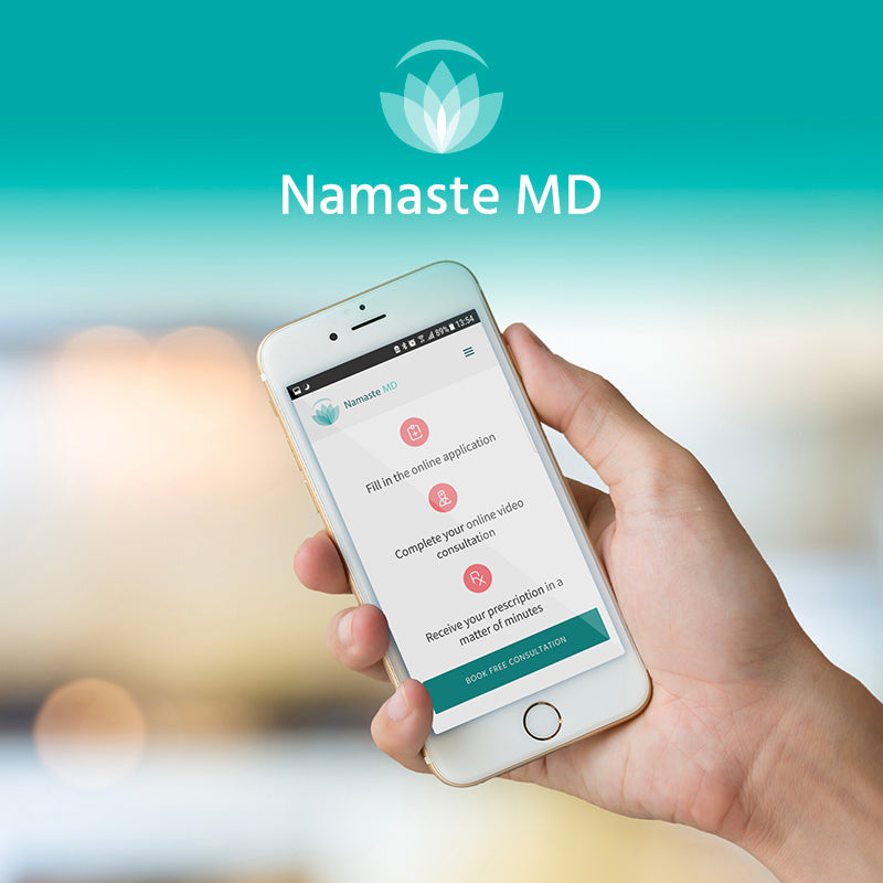 mmj prescription on namastemd