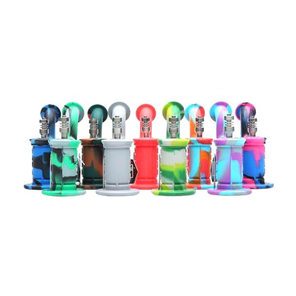 Eyce Silicone Dab Rig - Assorted Colours 0