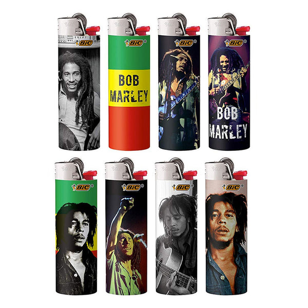 Bic - Bob Marley Bic Classic Lighters 50 Pack - Default Title - 0