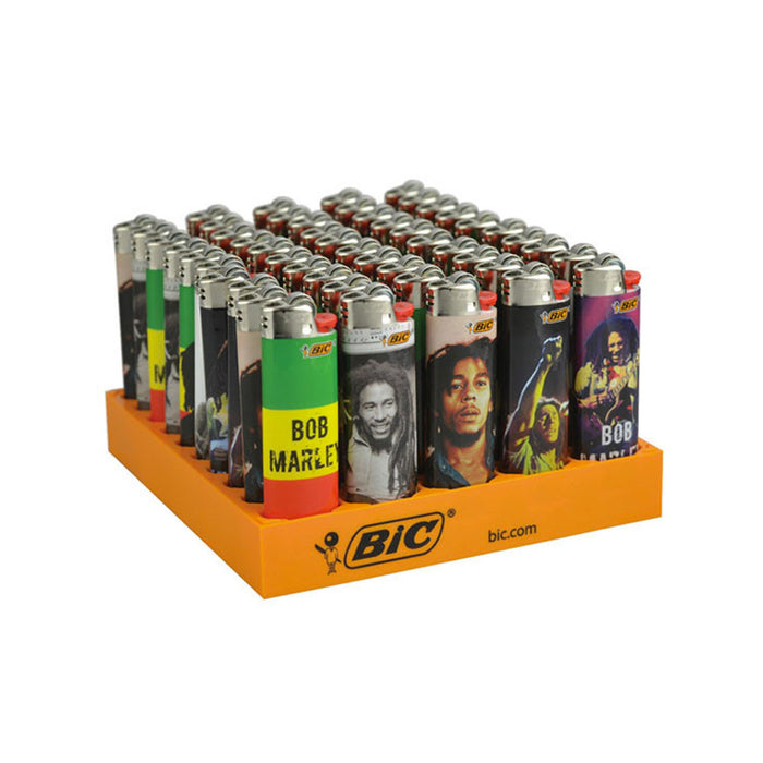 Bob Marley Bic Classic Lighters 50 Pack