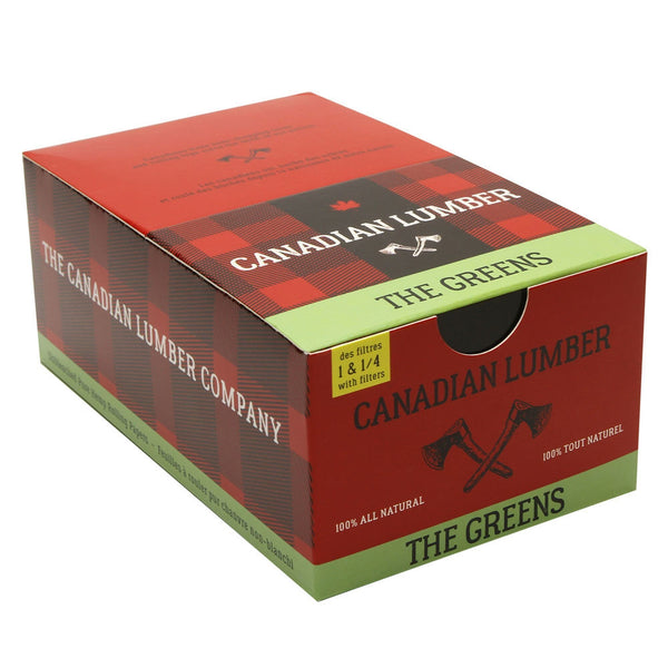 The Greens Unbleached Pure Hemp Rolling Papers 3