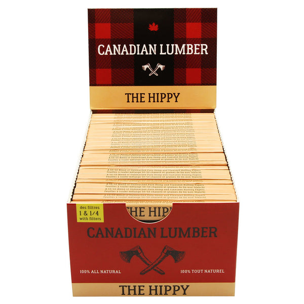 Canadian Lumber - The Hippy 50/50 Unbleached Rolling Papers - Default Title - 4