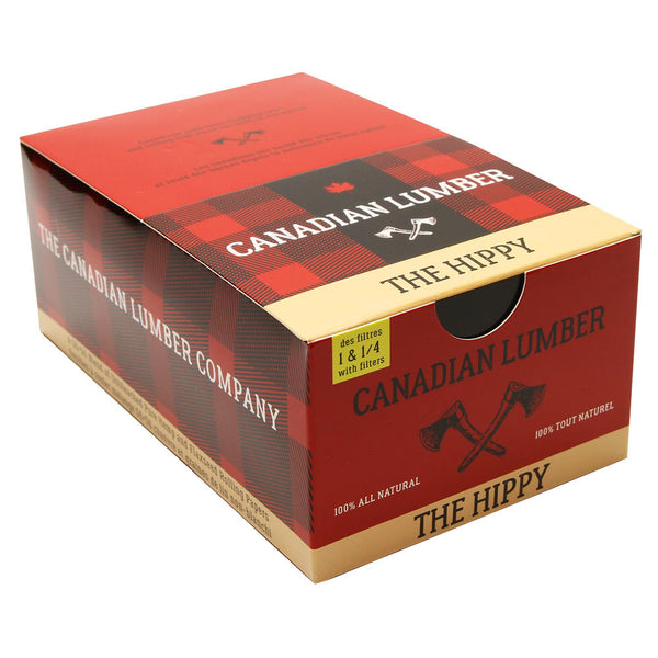 Canadian Lumber - The Hippy 50/50 Unbleached Rolling Papers - Default Title - 5