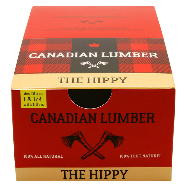 Canadian Lumber - The Hippy 50/50 Unbleached Rolling Papers - Default Title - 6