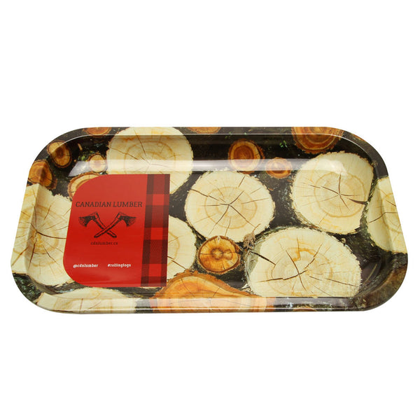 Canadian Lumber - Metal Rolling Tray - Default Title - 1