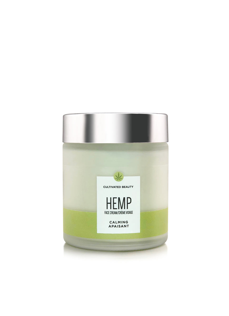 Cultivated Beauty Calming Hemp Face Cream