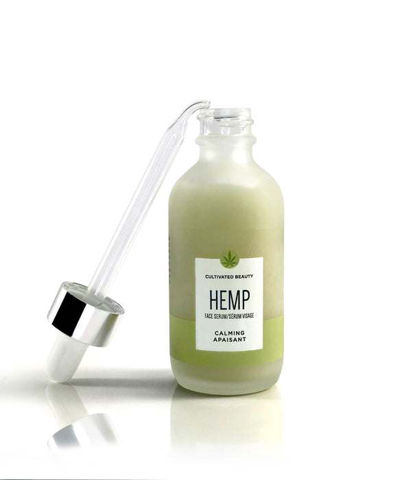 Cultivated Beauty Calming Hemp Face Serum - 60ml