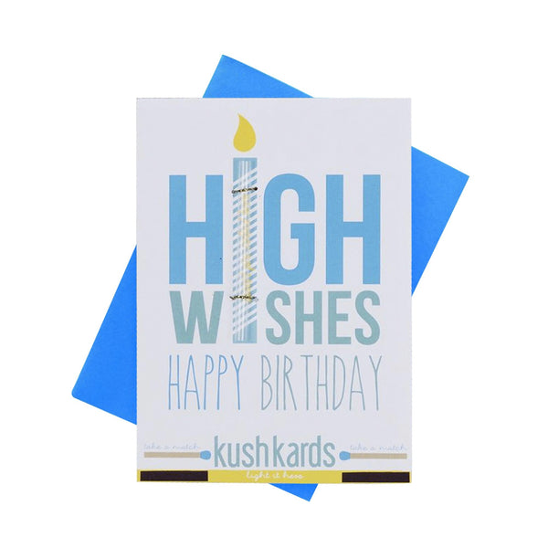 KushKards - High Wishes Pre-Roll Card - Default Title - 0