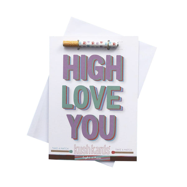 KushKards - High Love You Pre-Roll Card - Default Title - 0