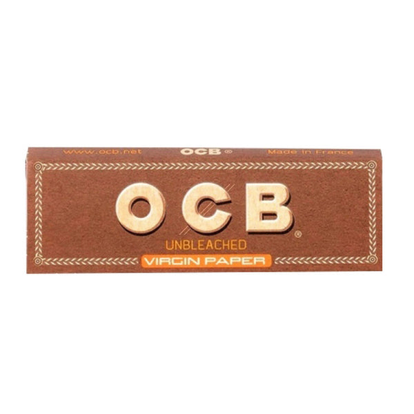 OCB - OCB Unbleached Rolling Papers 25 booklets - Default Title - 0