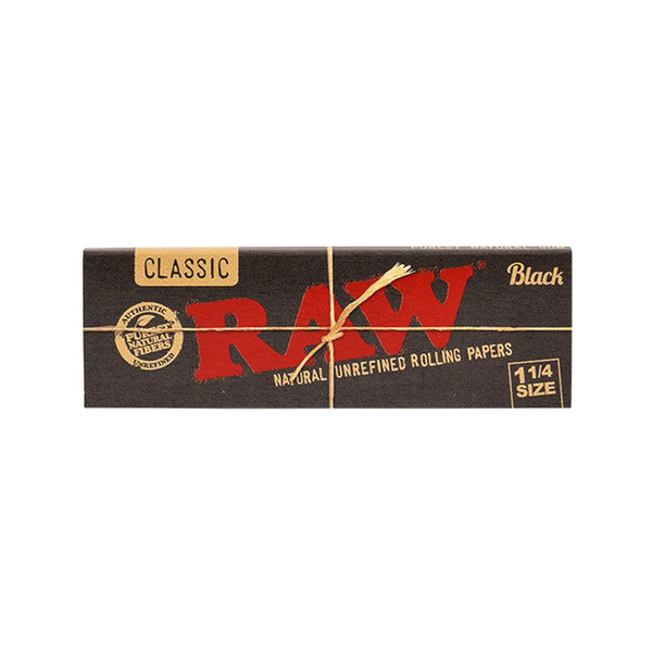 Raw - RAW Black Extra Fine Rolling Papers 24 Packs - Default Title - 0