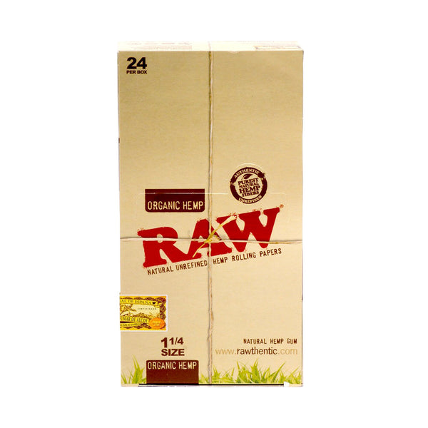 Raw - RAW Organic Hemp Rolling Papers Box of 24 Booklets - Default Title - 2