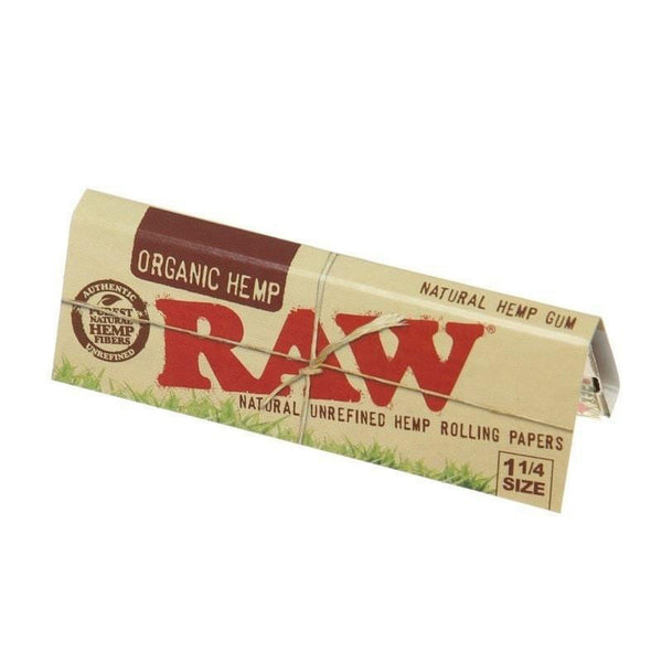 Raw - RAW Organic Hemp Rolling Papers Box of 24 Booklets - Default Title - 0