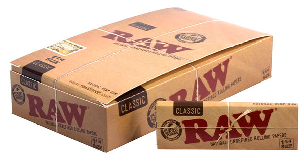 Raw - RAW Classic Rolling Papers Box of 24 Booklets - Default Title - 1