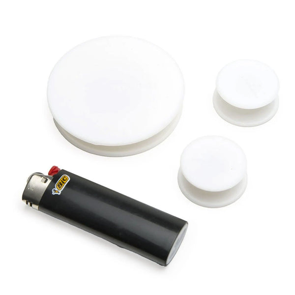ResOlution - Silicone Cleaning Res Caps - Black - 3