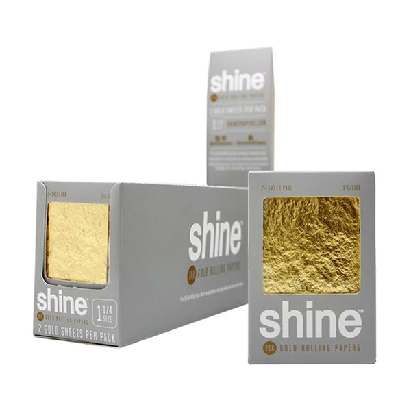 Shine Papers - Shine 24k Gold Papers 36 Booklets - Default Title - 1