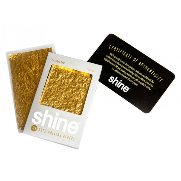 Shine Papers - Shine 24k Gold Papers 36 Booklets - Default Title - 3