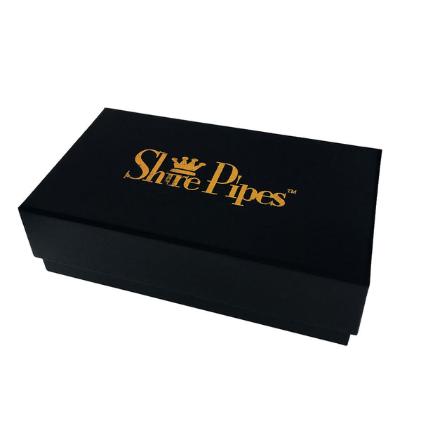 """Shire Pipes - Black Rosewood Pipe - 5.5"""" - 4"""