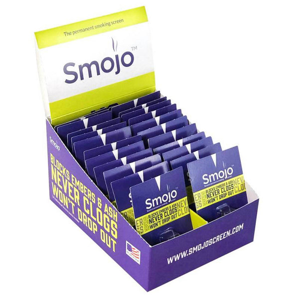 Smojo Smoke Screen Display Box of 24