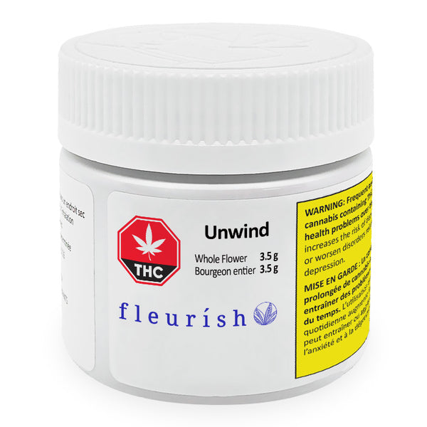 Fleurish - Unwind Dried Flower - 3.5g - 1