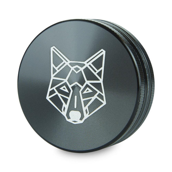 The Wolf Pocket Aluminium Grinder | 2 Part - The Wolf 2