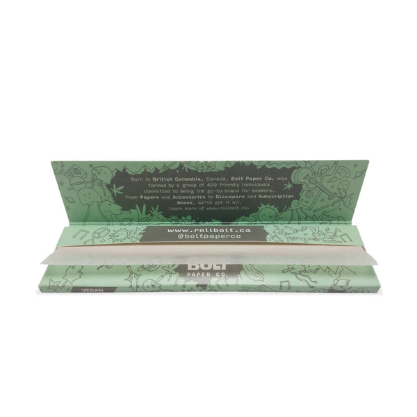 Bolt Pure Hemp Rolling Papers King Size (25 Booklets)
