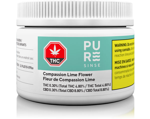 Compassion Lime Dried Cannabis Flower 2