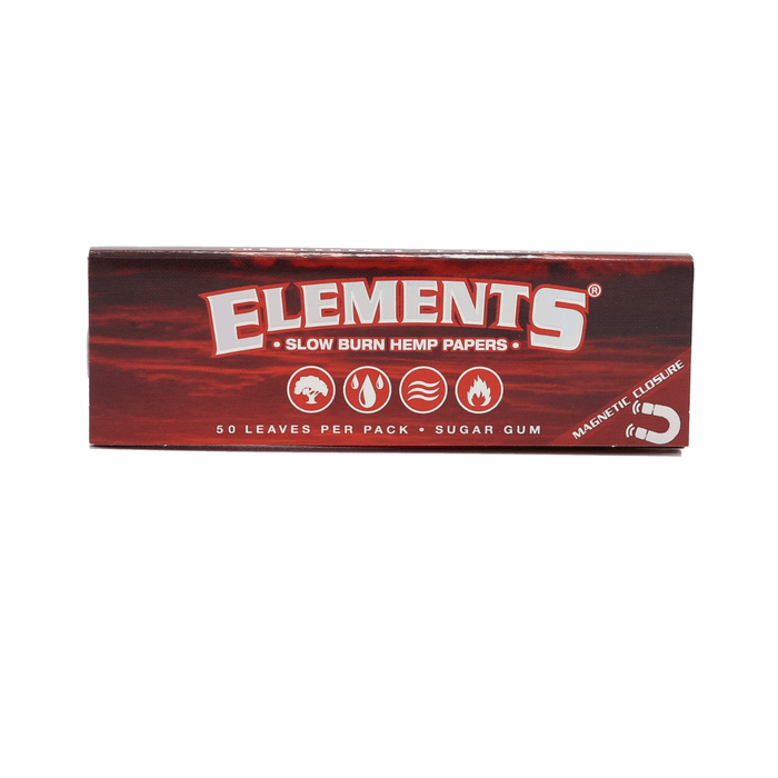 Elements Red Slow Burn 1 ¼ Rolling Papers