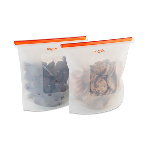 Ongrok - Silicone Storage & Decarboxylation Bags - 1500ml - 4