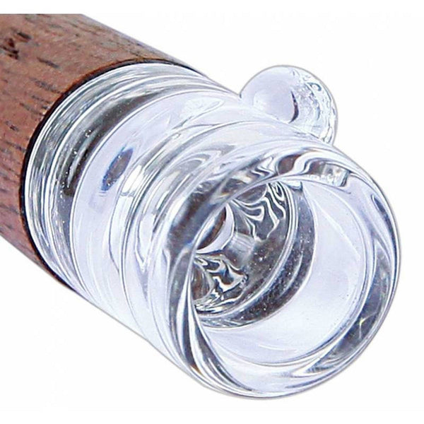 RYOT® - Glass Tip Wooden One Hitter - 9mm - 1