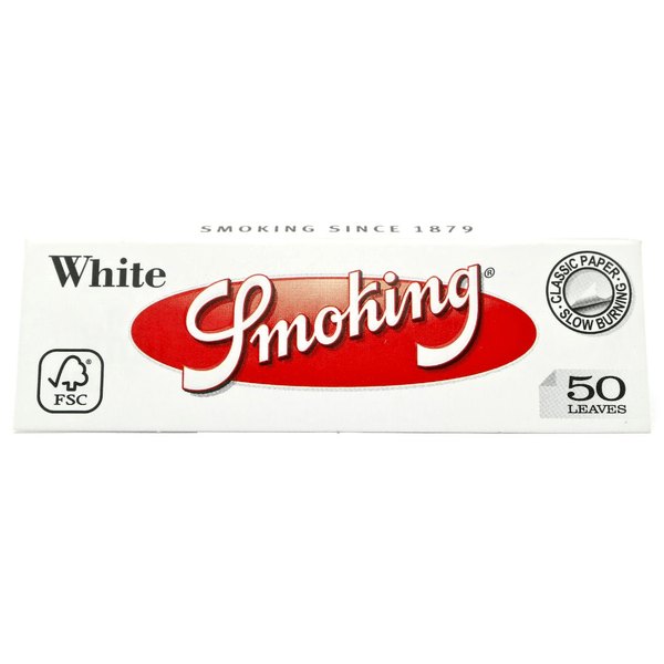 Smoking White 1 ¼ Rolling Papers